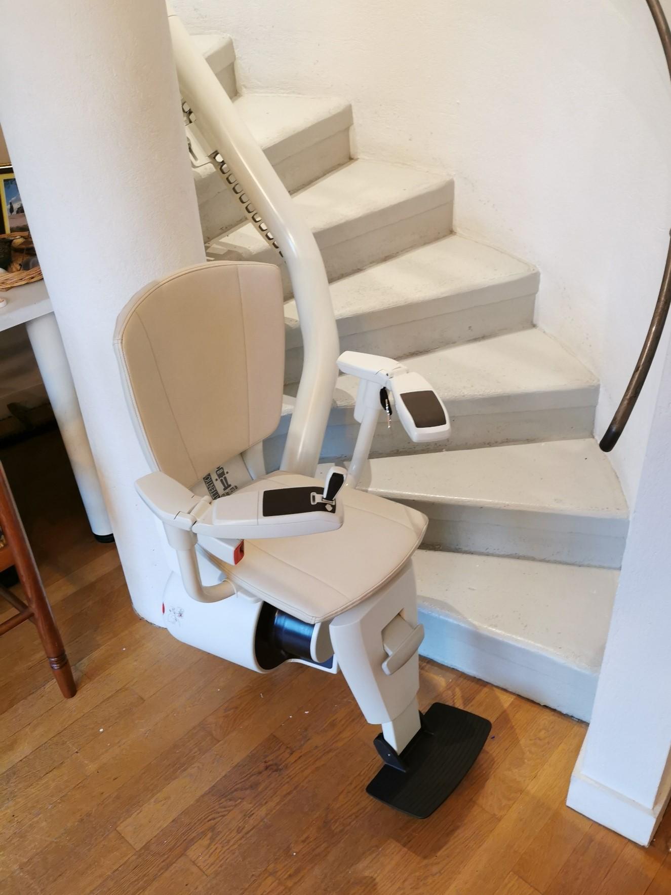 monte escalier colimacon